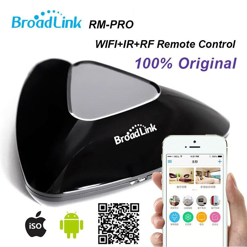 Broadlink RM-PRO, Casa Inteligente Sem Fio Interruptor De Controle Remoto, Suporte IOS/Android, Wifi IR/RF Interruptor De Contro