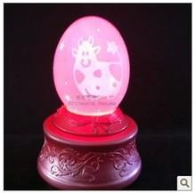 Taurus European royalty egg music box birthday gift Christmas the Qixi Festival girlfriend boyfriend husband wife