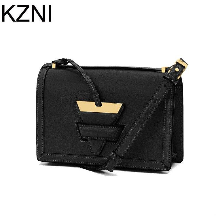 ФОТО KZNI genuine leather women bags luxury handbags women bags designer  carteras mujer marcas famosas cuero genuino L031331