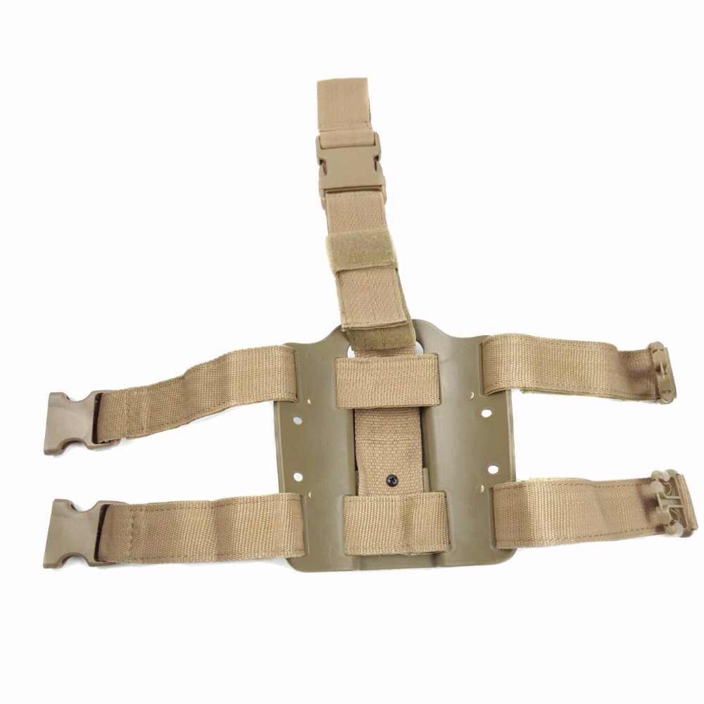 Für safariland 3280 Tactical Holster Plattform Pistole Pistole Holster Panel Platte GLock 17/ M9/ HKUSP/colt 1911 Beretta M9 2