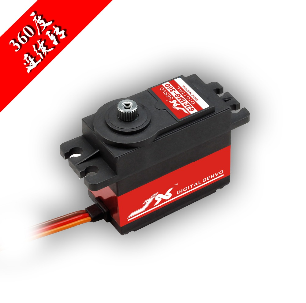 JX Servo/large torsion 20 kg / 6221 mg - 6221 continuous digital Servo/smart car jx servo pdi 7216 mg kg 16 large torque moment all metal shell digital hollow glass of steering gear
