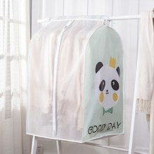 PEVA Three-dimensional Hanging Clothes Closet Coat Bag Clothing Dust Cover
