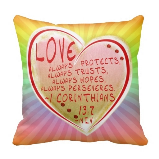 less love 1 corinthians 13 7 niv faith hopeful pillow case size 20