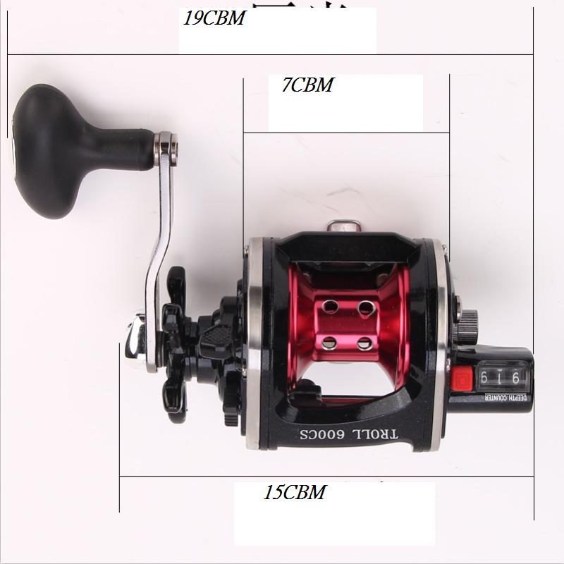 Image 2 - WOEN TROLL 9000CS All metal wire cup Fishing wheel 4BB South Oil Lateral fishing vessel Speed ratio 4.3:1-in Fishing Reels from Sports & Entertainment