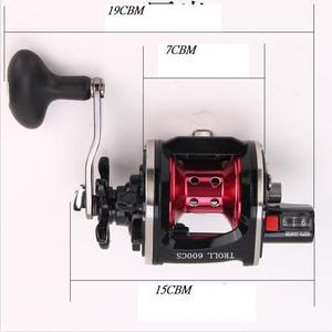 Image 2 - WOEN TROLL 9000CS All metal wire cup Fishing wheel 4BB South Oil Lateral fishing vessel Speed ratio 4.3:1