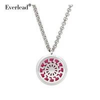 Everlead нержавеющая сталь диффузор духи медальон кулон ароматерапия медальон кулон мужчины ювелирные изделия