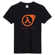 Half Life Fans Tshirt Men Game Player Short Sleeve Tee Shirt Homme 6.2oz Heavy cotton Gamer Gift Print Shirt Oneck XXXL Big Yard