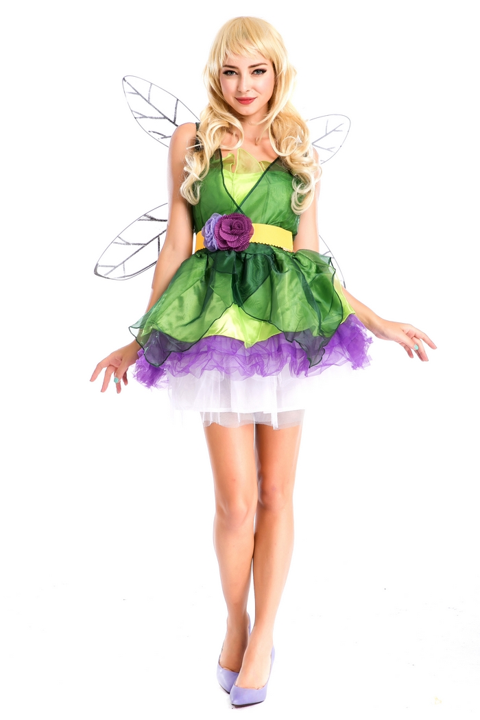 Арзан сексуалдық гүлдер fairy organza - Костюмдер - фото 2