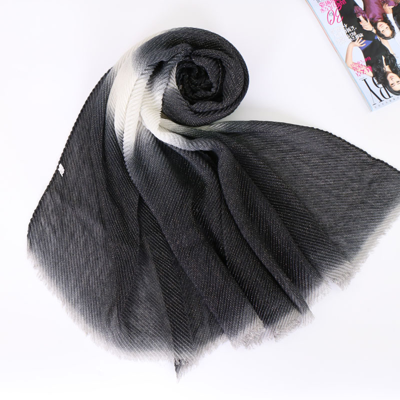 Freedi Men Artificial Cashmere Scarf Solid Color Long Fashion Winter Scarves Neck Warmer Boys