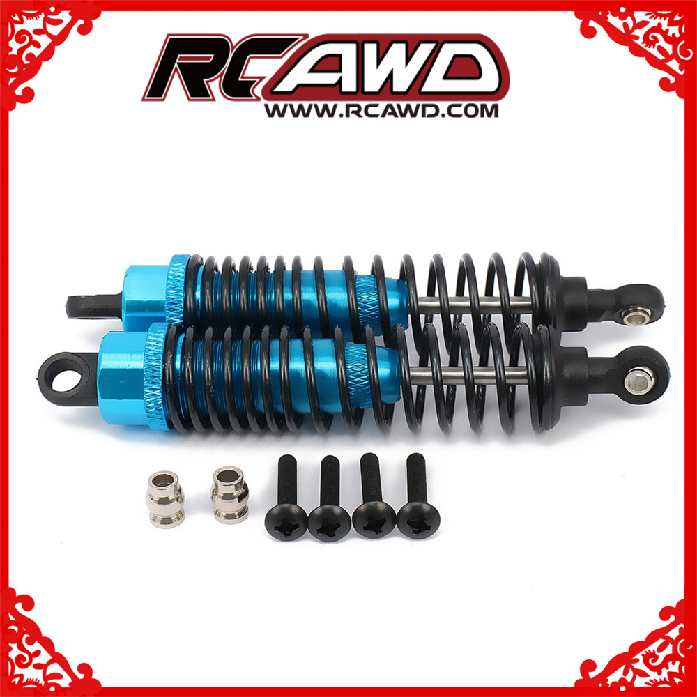 4PCS 106004 Alloy Upgrade Sets Shock Absorbers For HSP 1:10 RC Car Buggy Blue