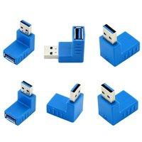 Newest UN2F 12 In 1 USB 3 0 Adapter Coupler Connector Plug Adapter Converter Gender Changer
