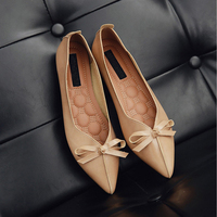 Luxury brand butterfly-knot ladies shoes