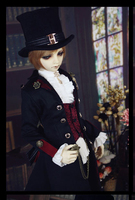 Buffalo's Heir Outfit Suit (6pcs) for BJD Doll 1/3 SD10 SD13 SD17 Doll Clothes LF10