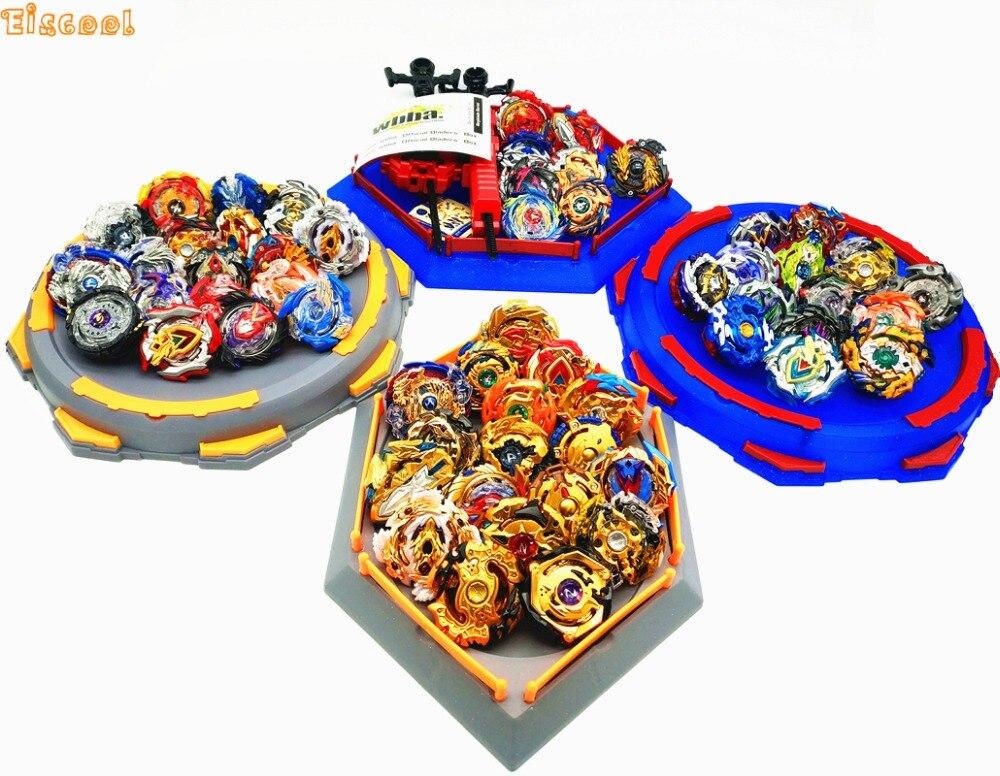 Livraison directe Beyblade jouet éclaté avec démarreur de lanceur et arène Bayblade métal Fusion dieu toupies Bey lame lames jouet