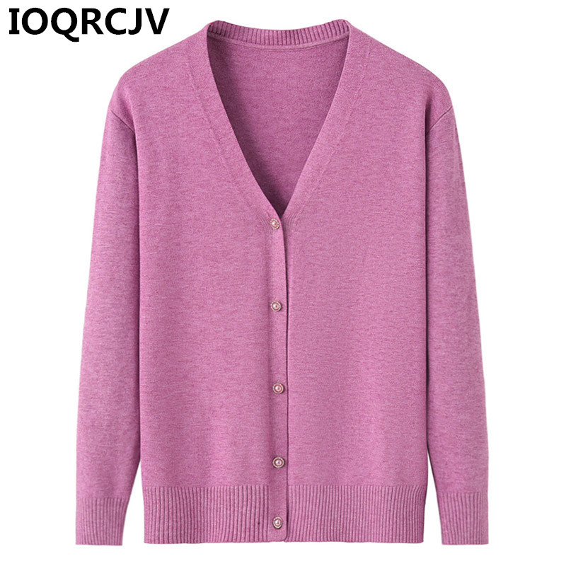 Women Knitted Cardigan Coat Autumn Winter 2019 Casual V-Neck Long Sleeve Knit Sweater Coat Female Outerwear Small Cape Tops R796