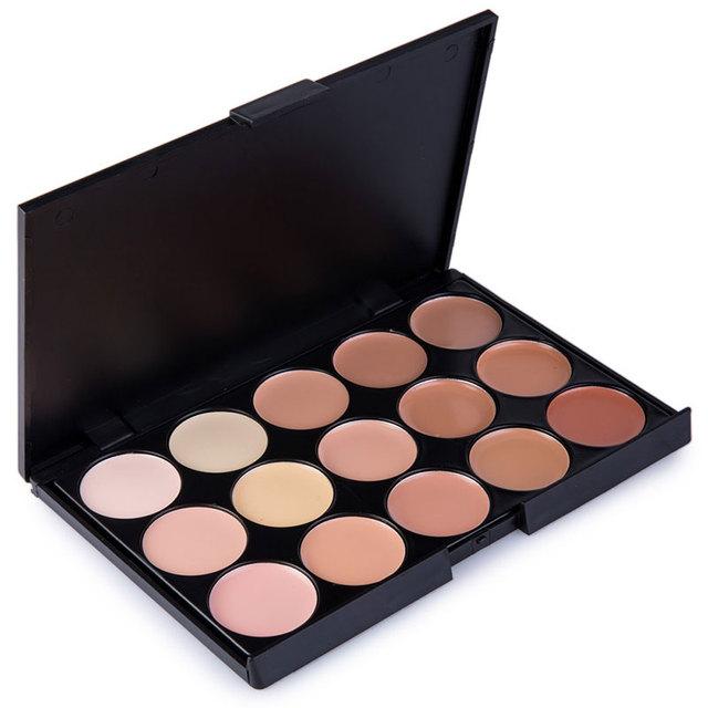 Natural Professional Concealer Palettes 15 Colors makeup Foundation