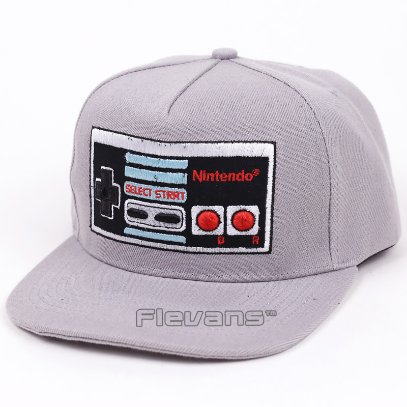 Nintendo Console Funny Creative Design Hip Hip Cap Hat Men Women Snapback Caps Baseball Hats new 2017 hats for women mix color cotton unisex men winter women fashion hip hop knitted warm hat female beanies cap6a03