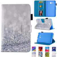 Crystal Painted Case For Samsung Galaxy Tab 3 Lite 7 0 T110 Sparkling Beach Tablet PU