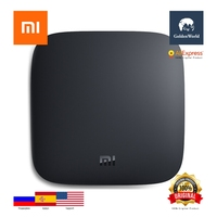 Original Xiaomi Mi TV Box 3S Amlogic S905X Quad Core 64bit Android 6 0 2 4GHz