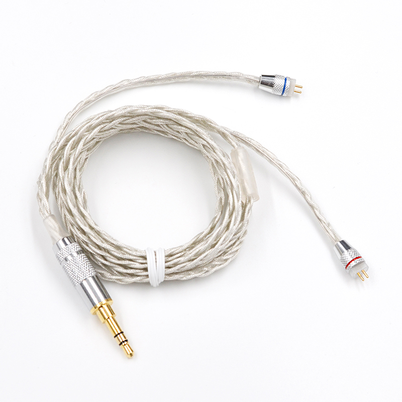KZ ZS10 2Pin Braided Plated Silver Cable Dedicated 2PIN Upgrade Cable For KZ ZSA/ZS4/ZS5/ZS6/ED16 KZ ZST/ES3/ES4/AS10/AS06/BA10KZ ZS10 2Pin Braided Plated Silver Cable Dedicated 2PIN Upgrade Cable For KZ ZSA/ZS4/ZS5/ZS6/ED16 KZ ZST/ES3/ES4/AS10/AS06/BA10
