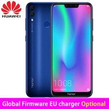 Orijinal Huawei Onur 8C 4 GB RAM Yüz KIMLIĞI 6.26 ''1520x720 Snapdragon 632 Octa Çekirdekli Çift Arka Kamera 13.0MP ekleyin 2.0M...