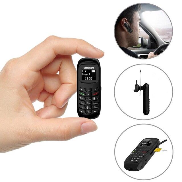 L8Star GTStar BM70 Mini bluetooth handset phone 0 66 inch Unlocked Mini Mobile Phone Bluetooth Earphone