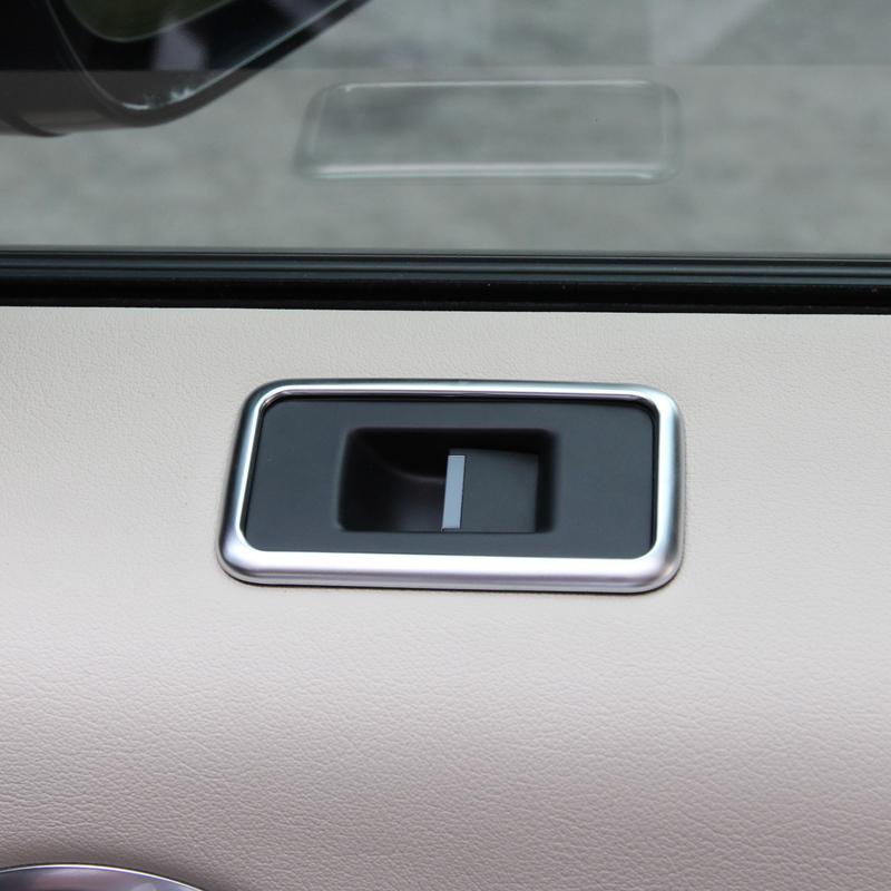 chrome window button cover trim sticker for range rover sport 2014 2015 auto accessories car styling  (3).JPG