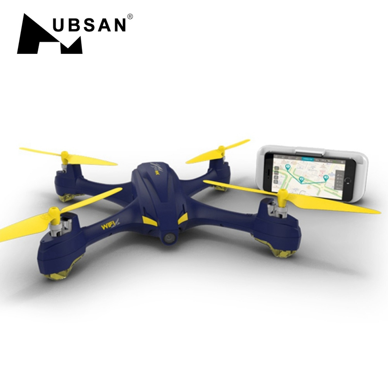 Hubsan X4 STAR H507A App Compatible Wifi FPV RC Drones With 720P HD Camera GPS Follow Headless Quadcopter RTF VS Hubsan X4 H501A pair of stylish colored rhinestone hollow out alloy hoop earrings for women