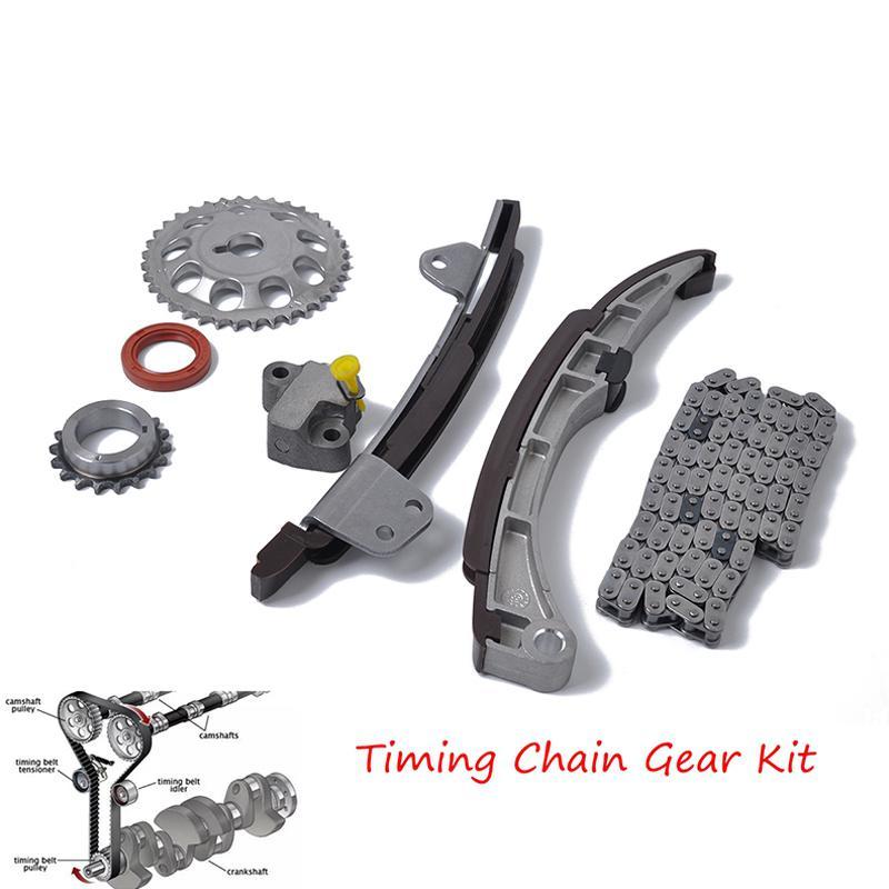 Kit de chaîne de distribution TOYOTA YARIS Kit de réparation pratique haute résistance ensemble d'outils chaîne de distribution joint avant de vilebrequin r30