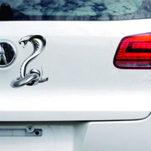 CDCOTN 2Pcs New Styling Car Sticker Eyes King Snake Stickers Interior Decoration Accessories Auto Products Decal
