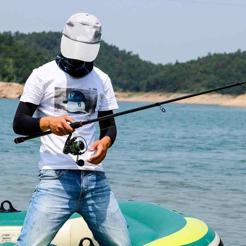 Sougayilang Fishing Rod Telescopic Lure Spinning Fishing Rod Combo Spinning Fishing Reel 13+1BB Freshwater Bass Fishing Tackle