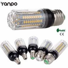 E26 E12 E27 E14 LED トウモロコシ電球 5 ワット 6 ワット 9 ワット 12 ワット 15 ワット 2835 Smd ライトランプ AC 110V 220V 超高輝度 Sportlight 家庭用装飾照明