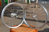 Kinlin 16inch 305 Wheelset 8 10s Novatec Hub Bmx Bike Wheelset Folding Bike Wheel Set 74mm