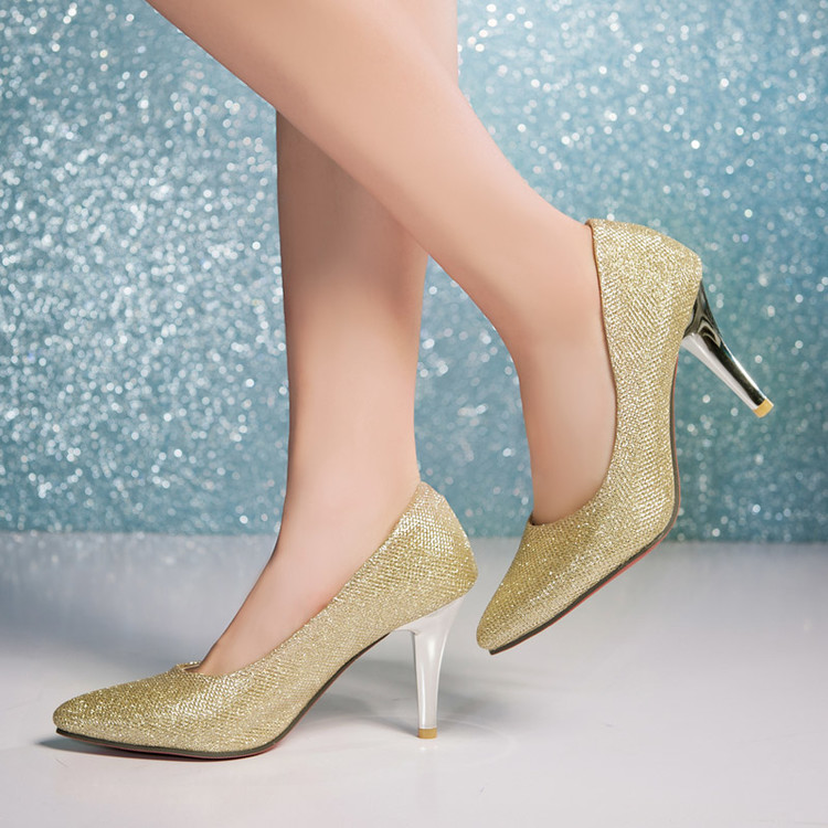 Big Size Sale  34-43 New Fashion Sexy Pointed Toe Women Pumps Platform Pumps  High Heels Ladies Wedding  Party Shoes 138 platform pumps fashion 2015 new shoes pumps pointed toe women pumps bowtie party slip on spool heels size 34 43