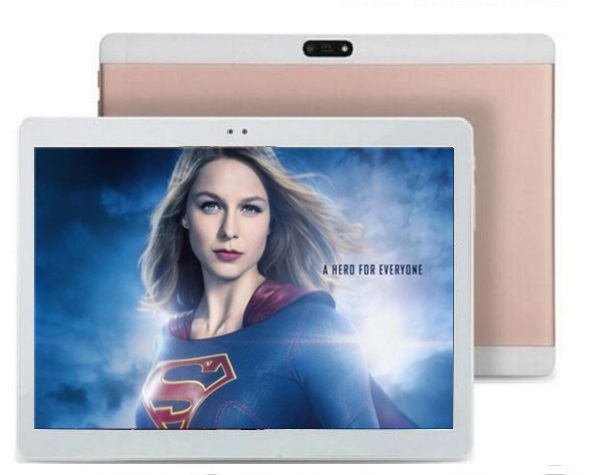 Cheap 10 Inch Tablet PC 4GB RAM Android 6.0 Octa Core 64GB ROM dual sim WiFi FM GPS 1280X800 IPS Phone Call 3G Tablets pad 10.1(China)