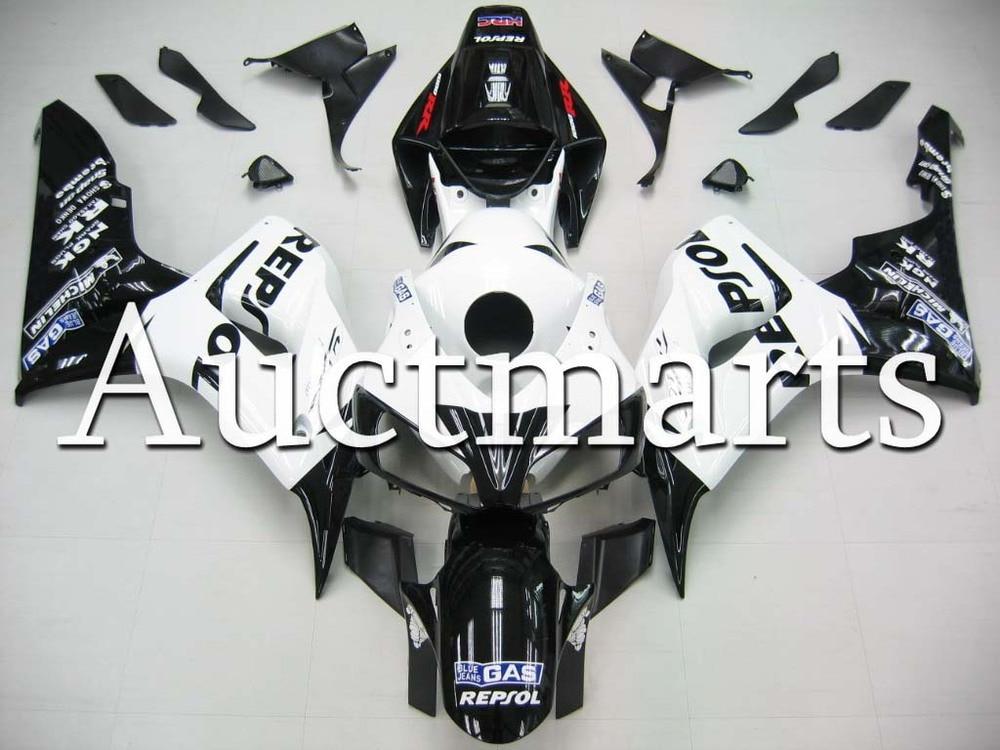 Пригодный для Honda CBR1000RR 2006 2007 CBR1000 рублей ABS пластик мотоциклов Обтекателя Kit Кузов ЦБ РФ 1000rr 06 07 ЦБ РФ 1000 рублей EMS48