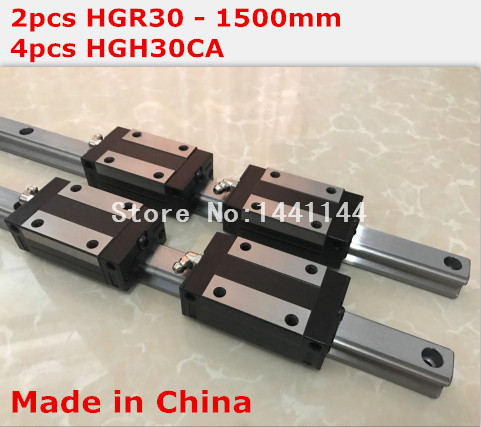 HG linear guide 2pcs HGR30 - 1500mm + 4pcs HGH30CA linear block carriage CNC parts 2pcs sbr16 800mm linear guide 4pcs sbr16uu block for cnc parts