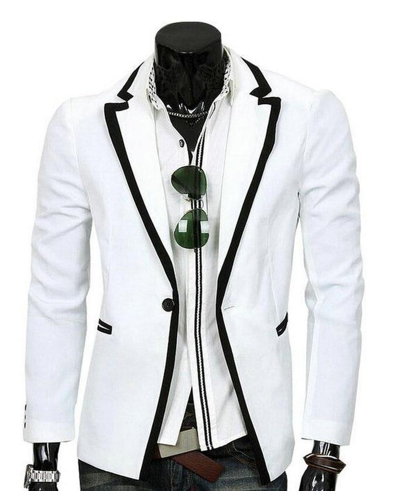 White Formal Coat - Coat Nj