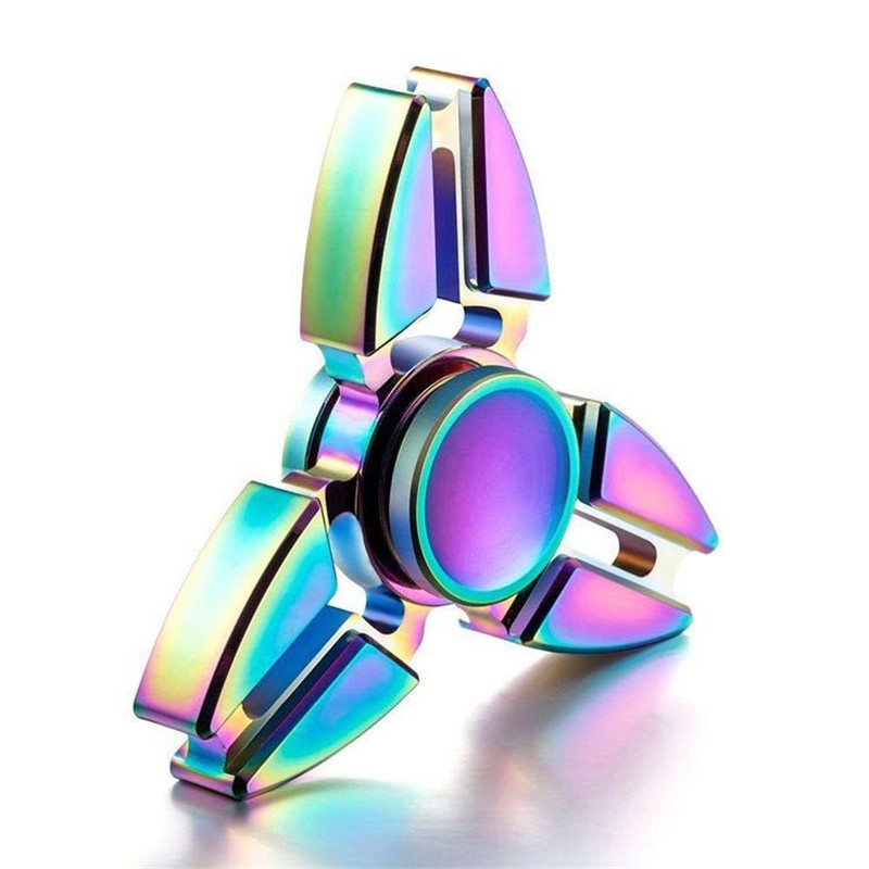 Gyro Fidget Spinner Autism ADHD Metal Spinning-Ds159 Kids/adult Finger-Focus-Toy Luminous img3