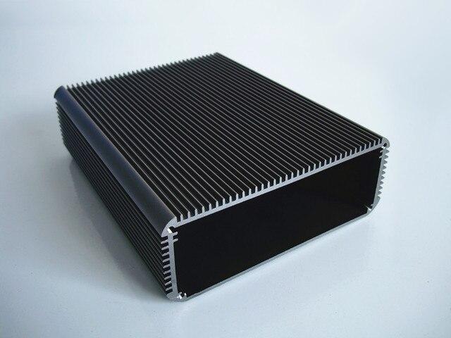 Алюминиевый корпус PCB Алюминиевый корпус Шасси теплового излучения коробка 120*45*150 мм