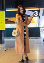 Long Lasting Classic Style Women Woolen Jacket, Cheap and Chic All-match Camel Color Ladies Jacket