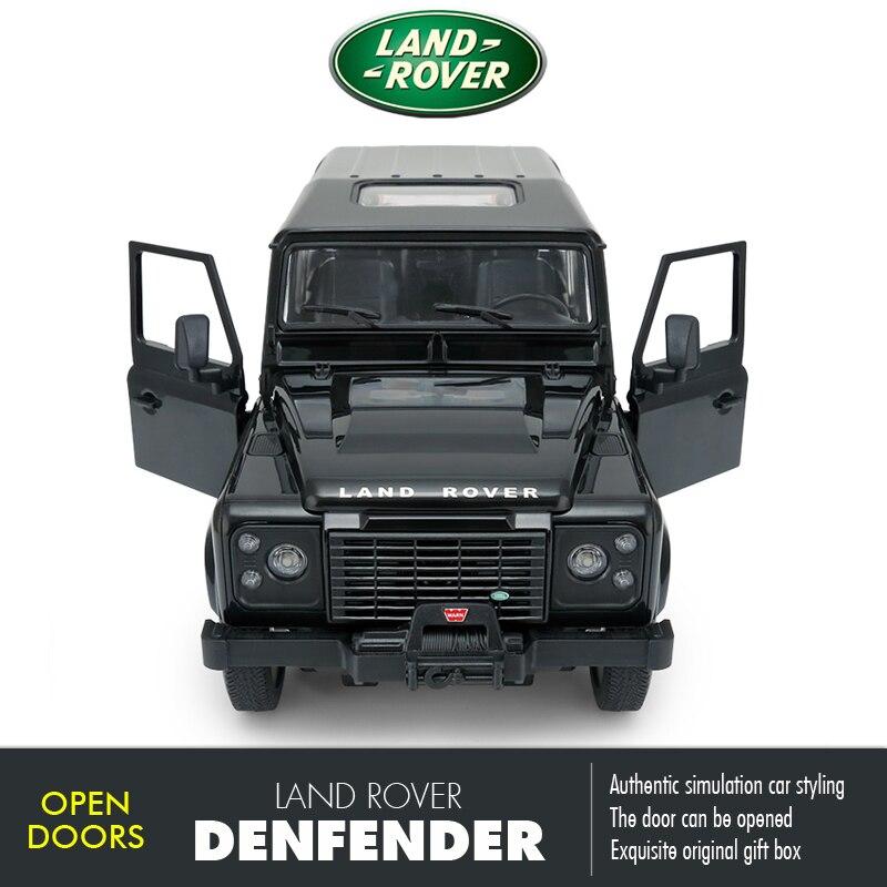 Rastar RC voiture 1:14 SUV Landrover Denfender télécommande jouets voiture Radio contrôle Machine modèle voiture électrique jouets pour garçons enfants