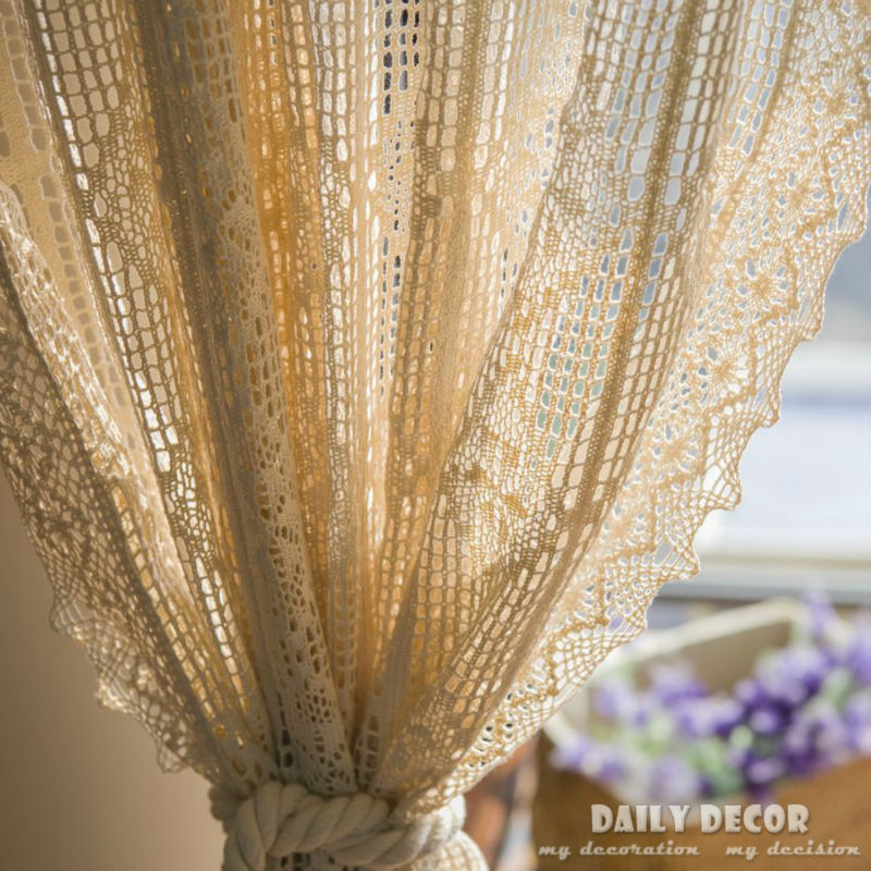 240 260cm 100 cotton beige handmade vintage crochet. Black Bedroom Furniture Sets. Home Design Ideas