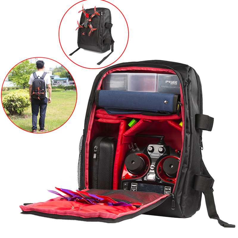 Plecak Fpv Iflight Drone dwukrotnie torba na ramię pakiet aukcja FPV QAV250 IX5 V2 o dużej pojemności w Części i akcesoria od Zabawki i hobby na  Grupa 1