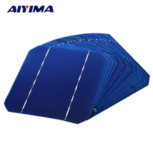 AIYIMA 20Pcs 2.7W 0.5V Monocrystalline Silicon Solar Panel 125*125 Solars Panel China Panneau Solaire  Solar Cell DIY