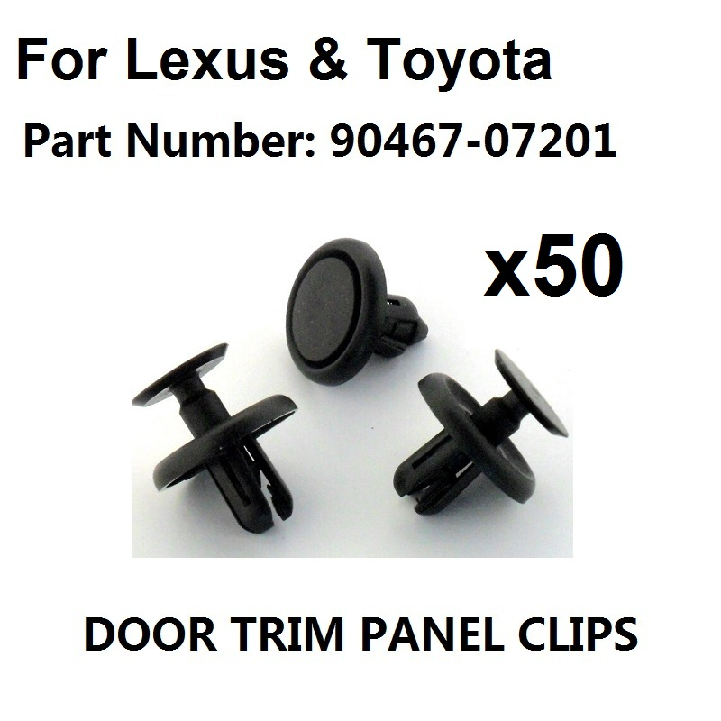 Wings Linings /& Panels Wheel Arches 50x Audi Plastic Nut Grommet for Bumpers