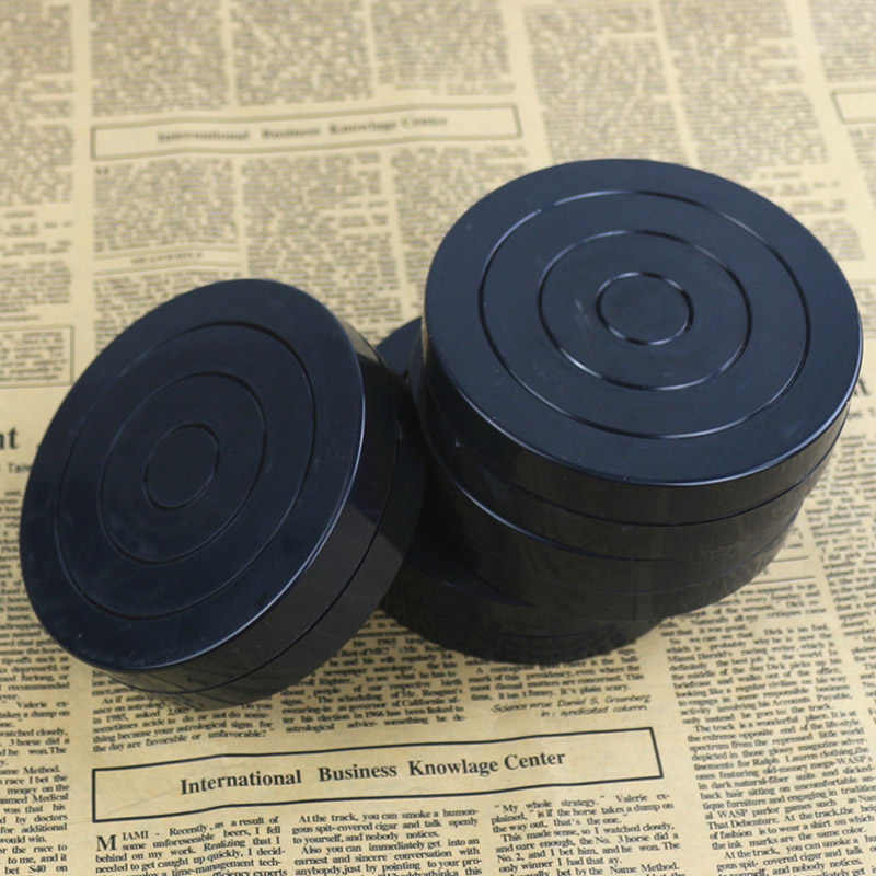 Черный пластиковый проигрыватель гончарный круг для студентов ручной работы ленивый сусанс вращающаяся пластина глина скульптура проигрыватель