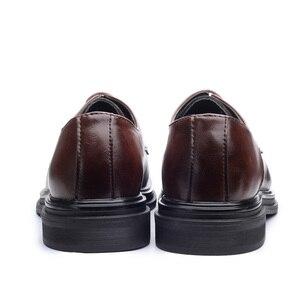 Image 5 - דסאי נעלי גברים קוריאני אופנה המחודד מקרית גברים של נעלי אביב קיץ סתיו חורף עור נעלי עסקי דירות