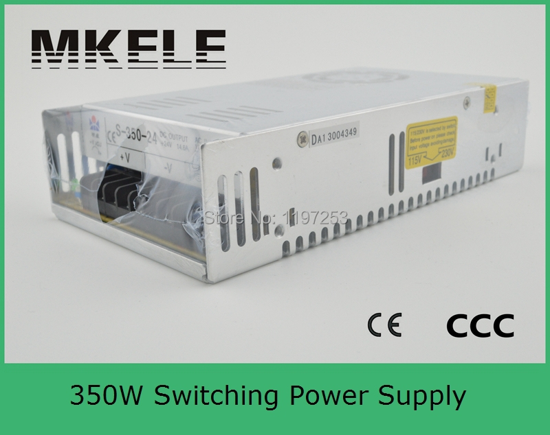 ФОТО customized smps high dc output 110V 350w power supply S-350-110 3.18a high efficiency single output model with 220vac input