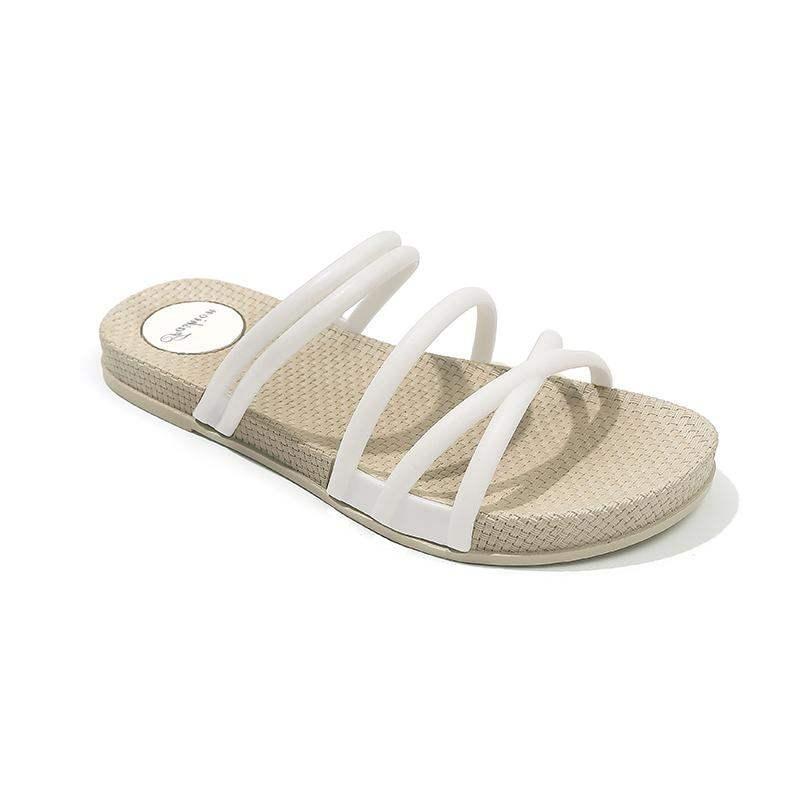 2019  Women Summer Sandals Women Shoes Bohemia Gladiator Beach Flat Casual Sandals Leisure Female Ladies Women Slip on Sandalias